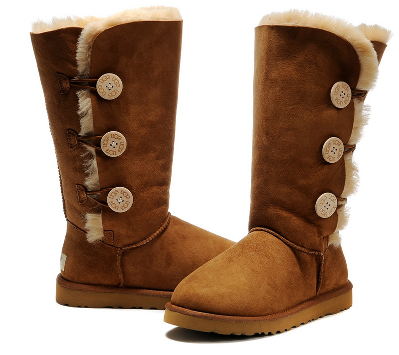 ugg w bailey button triplet 1873 w che